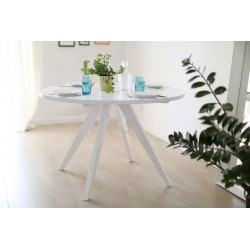 Okrągły stół BLACK&WHITE