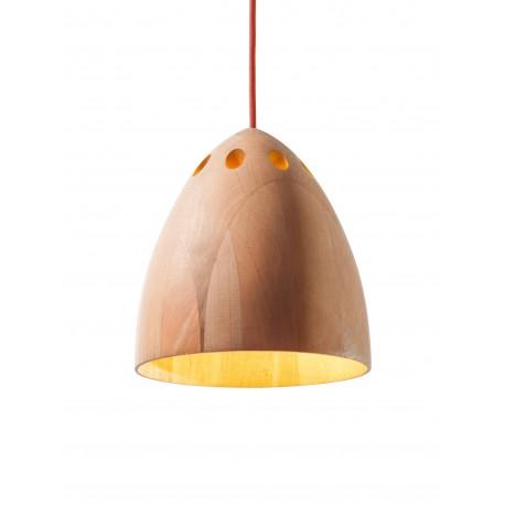 SLIVA- lampa drewniana