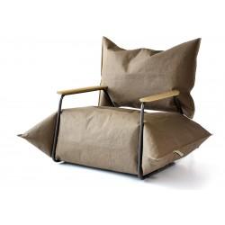 PAPER+ fotel z podłokietnikami