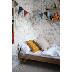 BASIC łóżko