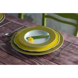 Mix & Match Blossom Line - jasna oliwka z żółtym