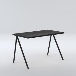 biurko elg - czarny dąb