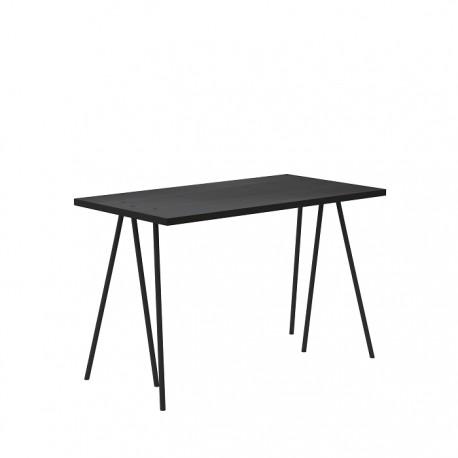 biurko skog - czarny dąb