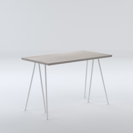 biurko skog - dąb bielony