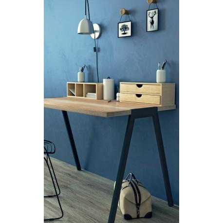 biurko fjord - dębowy naturalny