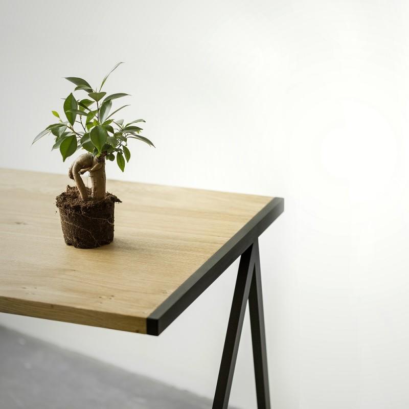 biurko elg - dąb sękaty