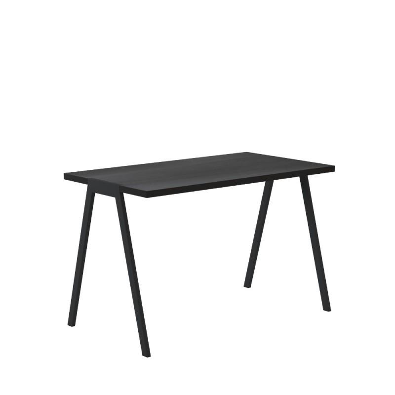 biurko fjord - czarny dąb