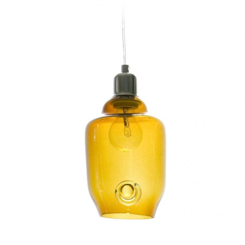 LAMPA wisząca szklana mała
